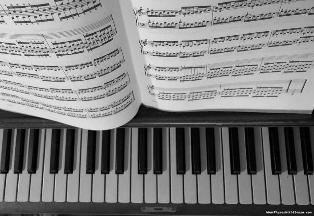 music bw