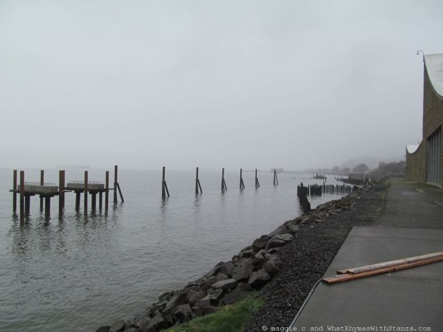 Columbia River bank