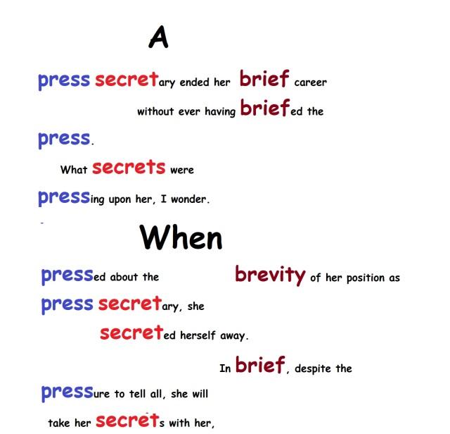 press sec